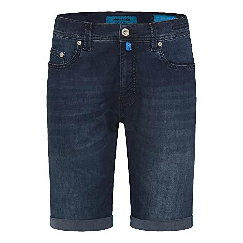 Pierre Cardin 7038611 Herren Shorts Baumwolle Polyester Stretch 5-Pocket Form, Groesse 40, dunkelblau Denim