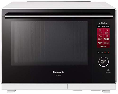 "Panasonic Steam Microwave Oven (30L)""Bistro"" (WHITE) NE-BS1500-W【Japan Domestic Genuine Products】【Ships from Japan】"