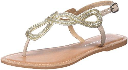 Dorothy Perkins Women's Heels Open Toe Sandals, Beige Nude 40, 42