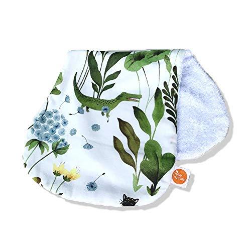 millemarille Kuscheltuch & Spucktuch aus Bambusfrottee | antibakteriell & saugstark, Ökotex 100 | hygienische Alternative zu Mullwindeln & Moltontüchern | für Baby-Erstausstattung | Magic Garden