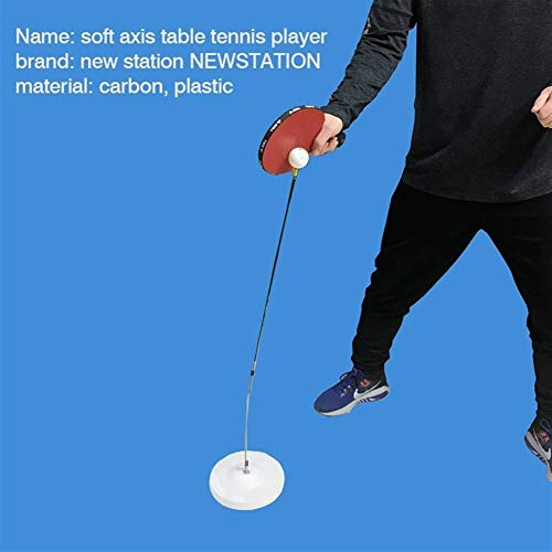 Review HABADOG Professional Table Tennis Training Elastic Soft Rapid Rebound Ping Pong Ball Table Te...