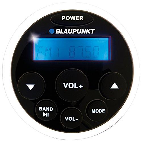 Blaupunkt Elba 120 Radio/USB MP3/FM-AM tuner/RMS 4x25 W/waterbescherming vochtstandaard stabiliteitsstandaard conform IP 66/zout, ASTM (B 117/UV, D 4329) voor maritiem gebruik boten