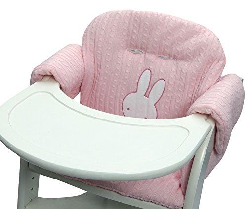 Tiamo Hase Miffy Sitzverkleinerer Hochstuhlverkleinerer rosa