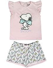 ARTESANIA CERDA Pijama Corto Single Jersey Snoopy Conjuntos Bebés