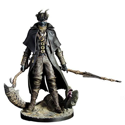 siyushop Bloodborne: Cazador Figura De Acción - Bloodborne The Old Hunters Hunter Statue PVC Figura - Escultura Precisa Altamente Detallada: Alta 12 Pulgadas (versión No Original)