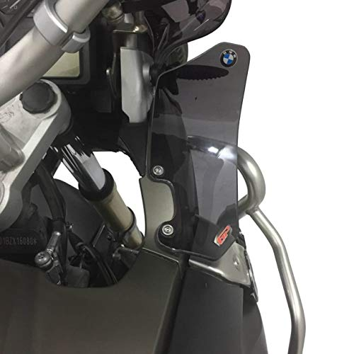 Wind Lateral Side Deflector Pair (Smoke) compatible with BMW GS 1200 R Adventure 2004-2012