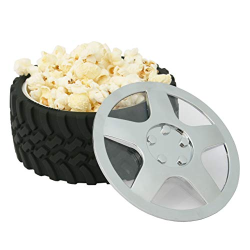 Product Image 4: WRENCHWARE – Knobby Tread Rubberized Tire Bowl used by Gearheads, NASCAR Fans, Mechanics, Motorheads, Car Engineers, and that Munchkin in your life. Pistachio Bowl, Popcorn Bowl, Pretzel Bowl.