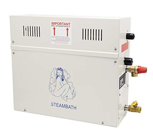 CGOLDENWALL Luxus Dampfgenerator Dusche Home Dampfdusche System Sauna Spa Dampfbad Generator, 220.0V