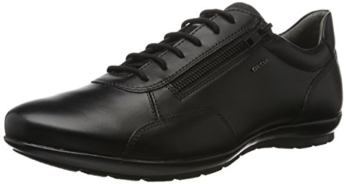 GEOX Man UOMO SYMBOL A SHOES BLACK_45 EU