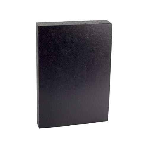 Pack 50 Tapas de Encuadernar A4 Carton 750g Color Negro