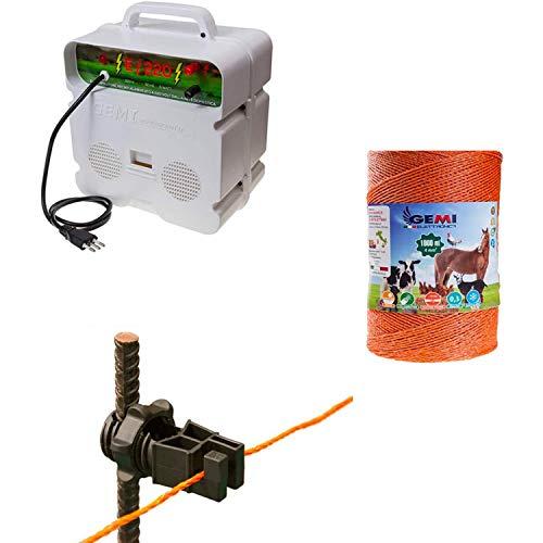 Kit complet pour clôture électrique clôture électrifiée pour...