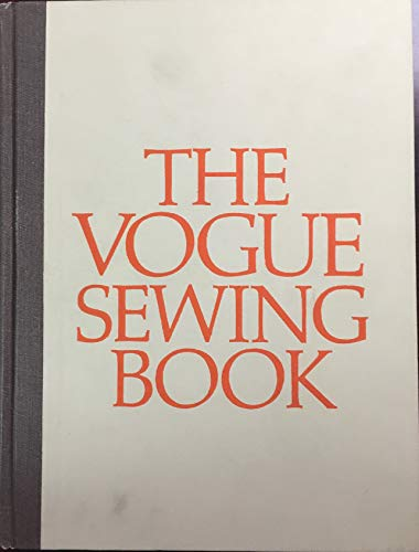 The Vogue Sewing Book Hardcover 1975