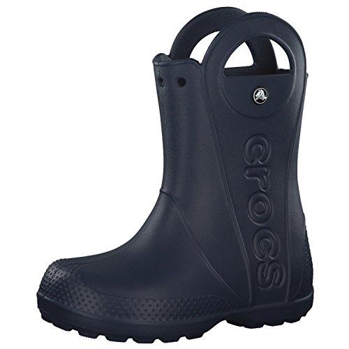 Crocs Unisex Kinder Handle It Rain Boot Kids Wasserschuhe, Blau (Navy), 25/26 EU