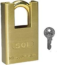 SOL-HARD *锁 No.4500 50mm 3个一套