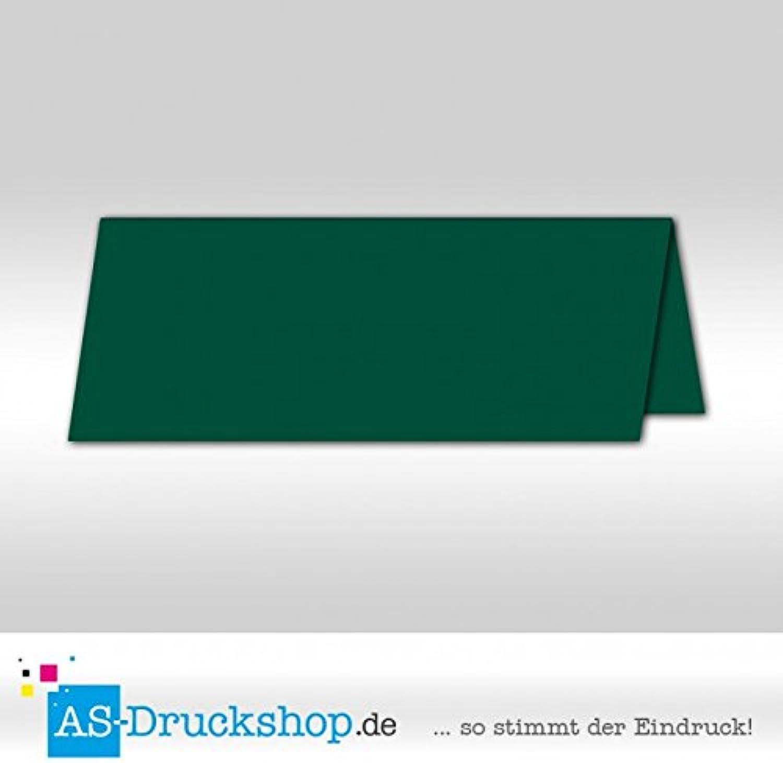 Tischkarte Platzkarte - Smaragdgrün - satiniert 100 Stück Stück Stück 10,0 x 4,5 cm B079Q32GXK | eine breite Palette von Produkten  | Modernes Design  | Große Klassifizierung  095124
