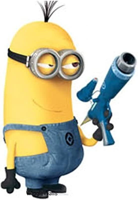 6 Inch Tim Despicable Me 2 Minion Removable Wall Decal Sticker Art Home Kids Room Decor 4 Inch Wide By 6 Inch Tall