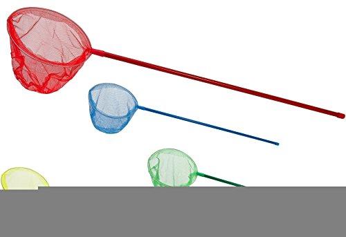 Globo Toys 32295 90 x 25 cm 5 Couleur d'été en métal et Plastique Filet de pêche Lot de 1 (Couleurs Assorties)