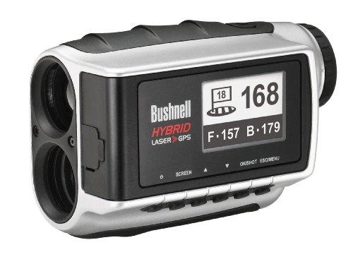 Bushnell Laser und GPS Entfernungsmesser Hybrid , silber, 201951EU