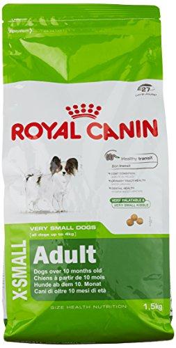 Royal Canin Hundefutter X-Small Adult, 1,5 kg, 1er Pack (1 x 1.5 kg)