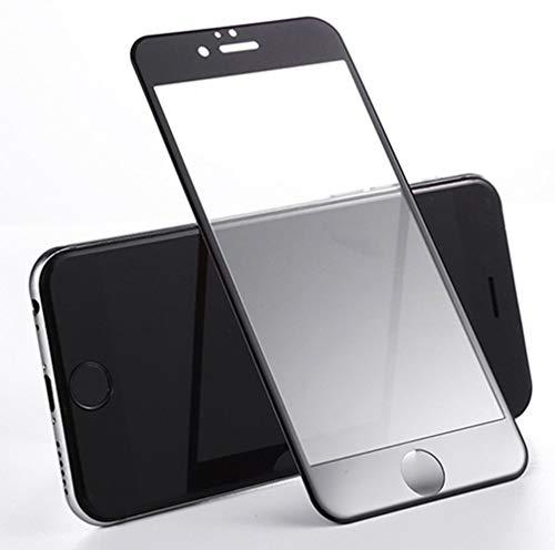 WEOFUN iPhone 6 Plus / 6s Plus Protector de Pantalla 3D Curva Edge Completa Vidrio Templado Pantalla para iPhone 6 Plus / 6s Plus 5.5 Pulgadas [2 Unidades] [0,33mm Pet Negro]