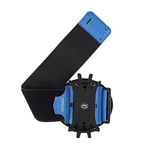 MagiDeal Deportes Arm Band Soporte para Teléfono Móvil Bolsa Running Gym Brazalete Funda - Azul