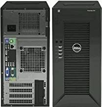 2018 Newest Flagship Dell PowerEdge T30 Business Mini Tower Server System - Intel Pentium G4400 3.3GHz 3M cache, 4GB UDIMM RAM 2400MT/s, 1TB Hard Drive 7200RPM, HDMI (Pentium G4400)