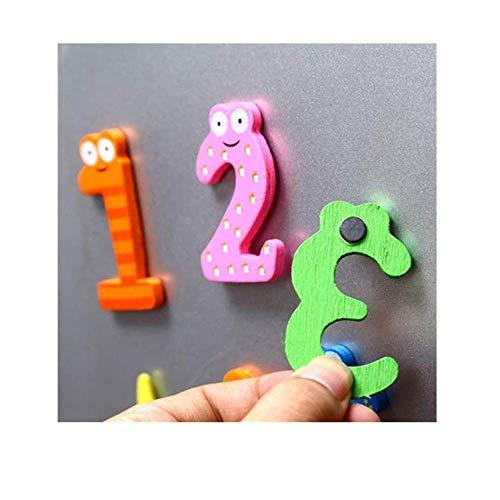 yuyuanDO Aimant Frigo Magnet Frigo Enfant Autocollant Enfant Chiffres Lettres Décorations Frigo Décorations Chambre d'enfant Educatif Décoration de la Maison Tableau Blanc (Chiffres)