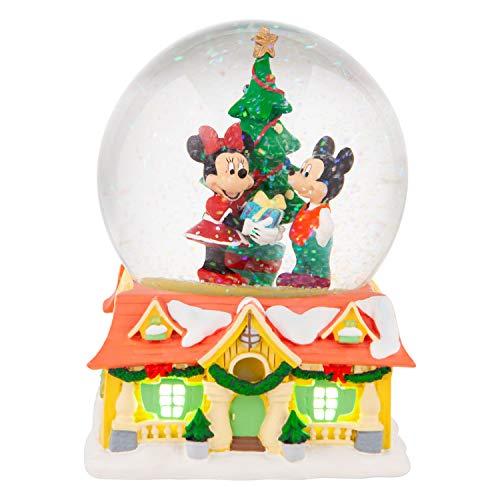 Disney, Bola de cristal con Mickey y Minnie, Enesco
