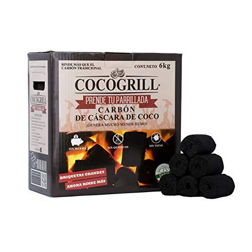 cuantos kilos trae un saco de carbon fabricante COCOGRILL PRENDE TU PARRILLADA