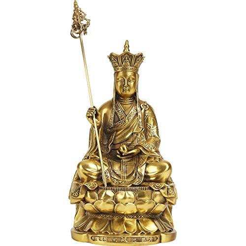 LJXLXY Feng Shui Dekoration Dizang Bodhisattva Buddha-Statue Der tibetische König, Perfect Home Geschenk, Religiöse Supplies Home Tisch Büro Feng Shui