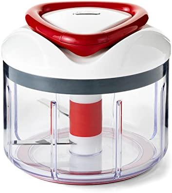 ZYLISS Easy Pull Food Chopper and Manual Food Processor - Vegetable Slicer and Dicer - Hand Held