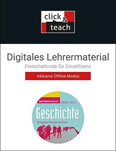 Buchners Kolleg Geschichte – Neue Ausgabe Niedersachsen / Kolleg Geschichte NI Abitur 2022 click & teach Box: Digitales Lehrermaterial (Karte mit Freischaltcode)