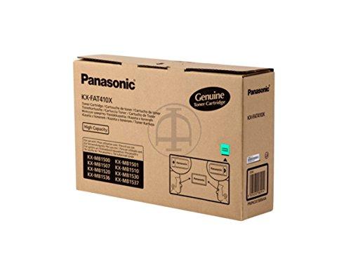 Panasonic Kx-Fat410X Cartucho de Tóner 2500 Páginas Negro - Tóner Para Impresoras Láser (2500 Páginas, Negro, 1 Pieza(S))