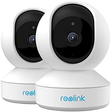 Home Security Camera System Reolink 3MP HD Plug in Indoor WiFi Camera Pan Tilt Pet Camera Baby product image