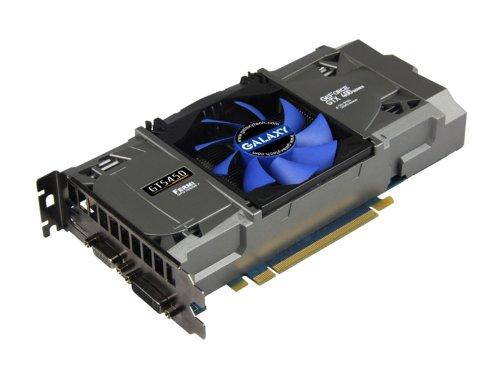 GALAXY グラフィックボード GeForce GTS450搭載 CUDA/PhysX/ SLI対応 GF PGTS450-OC/1GD5 FUJIN 2.1