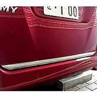 [Accesments] ルーミー タンク M900系 M910系 テールゲートガーニッシュ リアバンパーガーニッシュ バックドアガード 外装パーツ エアロパーツ メッキモール 1P RO001