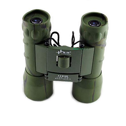 YITEJIA Outdoor Reizen Telescoop 12x32 HD High Definition Verrekijkers\ Nachtzicht Camouflage\ BAK9\ FMC\ Waterpoof Voor Vissen Camping/Wandelen