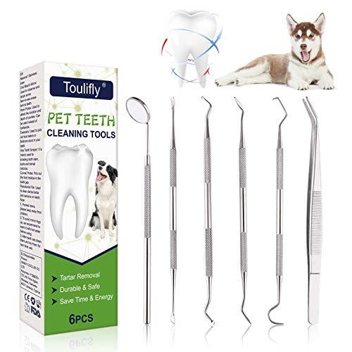 Cherioll Sarro Dental Limpiador,Limpiador de Dientes para Perros y Gatos,Dental Kit,Juego de eliminador de sarro para Perros, Juego de eliminación de sarro, para Perros y Gatos 🔥