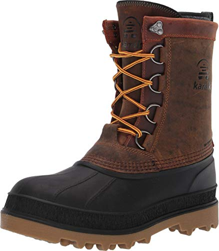 Kamik Men's William Winter Boots Gaucho Brown 11