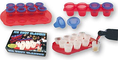 Dakota Set de 2 moldes para 12 vasos de chupito de hielo. To