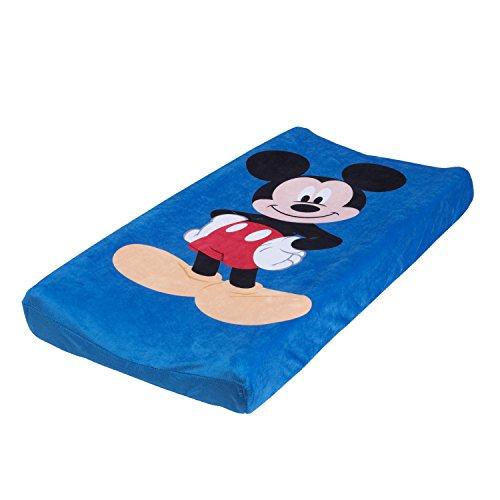 Disney Mickey Housse pour matelas à langer Bleu/rouge/noir