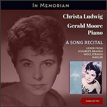 A Song Recital (In Memoriam (Album of 1959))