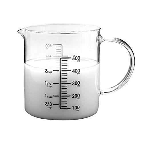 taza medidora de vidrio 500 ml fabricante HEMOTON