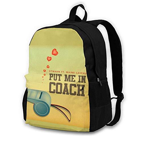 Mochilas IUBBKI Put Me in Coach, Mochilas para Adultos, adecuadas para escuelas, Turismo, montañismo, Compras, etc.