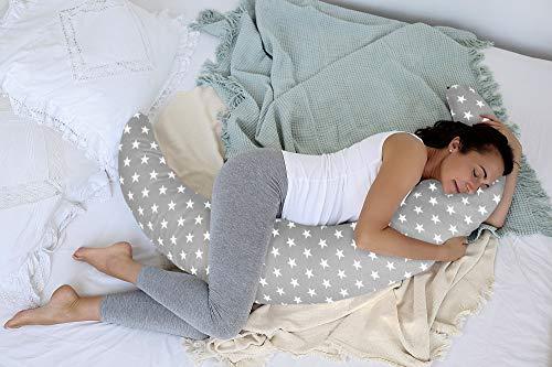 EINFÜHRUNGSAKTION 26,99 EUR statt 31,9 EUR XXL 230 cm Scamp Button Stillkissen Schwangerschaftskissen (Mouse)