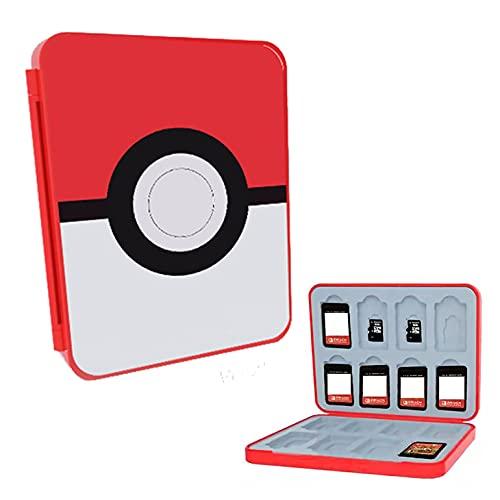 LUCYLANKER Prämie Game Card Case für Nintendo Switch,Nintendo Switch Memory Card Case,Game Card Holder for Nintendo Switch Games with 16 Card Slots,Spaßgeschenk für Kinder (A)