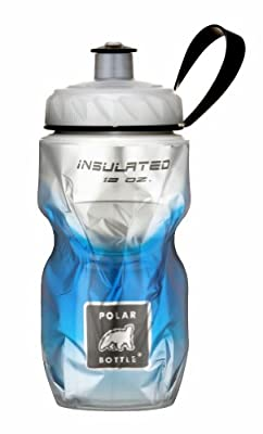 Polar Bottle Insulated Water Bottle 12 oz - Kids Series - 100% BPA-Free Cycling and Sports Water Bottle (Blue Fade, 12 ounce)
