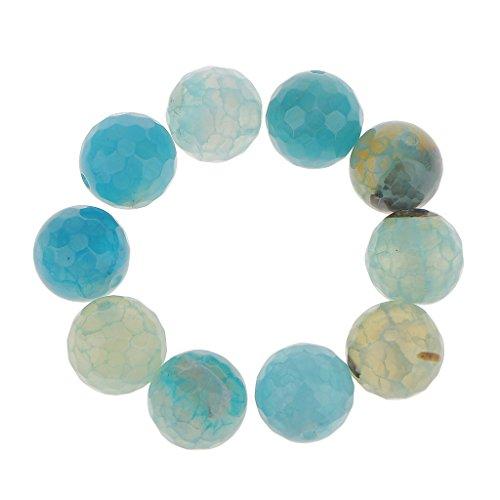 10pcs 12 Mm Bolas De ágata De Fuego Bolas Redondas De Piedras Preciosas Perlas Sueltas para La Fabricación De Joyas De Bricolaje