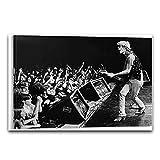 wzgsffs Cantante De Rock Tom Pettyin Cartel De Concierto E Impresiones Arte De La Pared Impresión En Lienzo Sala De Estar Decoración del Dormitorio del Hogar-24X32 Pulgadas X 1 Sin Marco