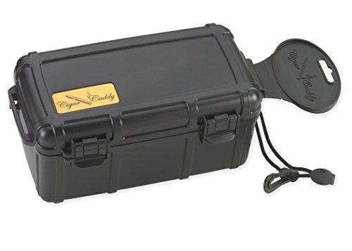 Cigar Caddy 3540 Waterproof Travel Cigar Humidor for 15 Cigars, with...